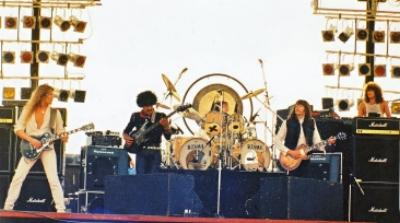 Phil's final concert with Thin Lizzy: September 4th, 1983