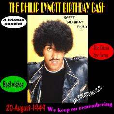 Philip Lynott: Birthday Bash Tribute
