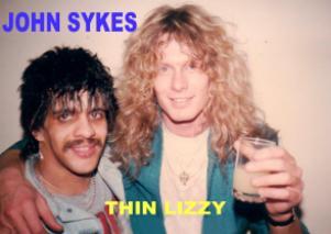 MICK with John Sykes