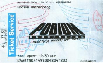 14th Dec 2000 -- Hardenberg